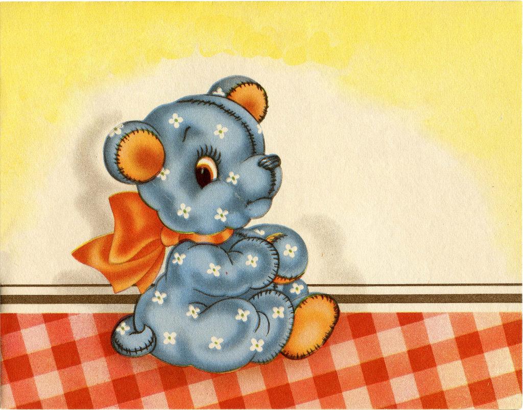 Retro Kitsch Dog or Bear image