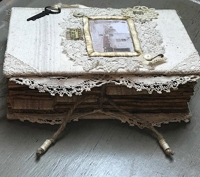 Junk Journal Farmhouse Style A Penchant for the Past