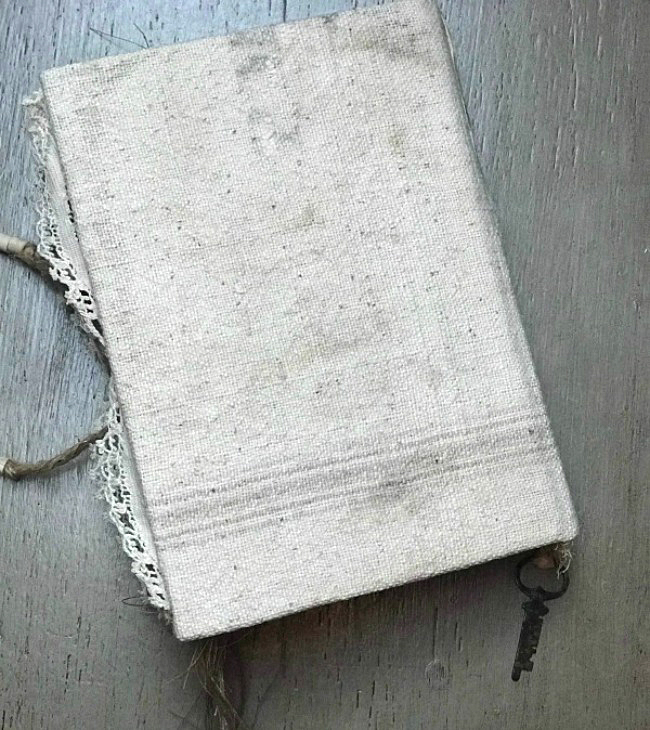 Farmhouse Junk Journal Back Cover