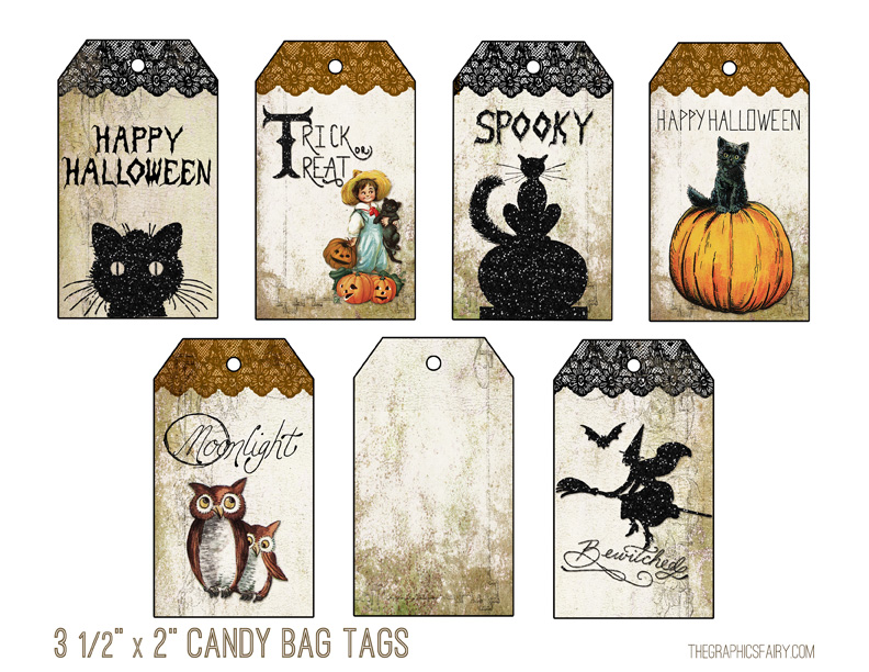 Halloween Printable Tags