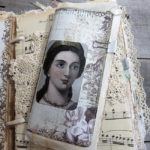 Vintage Junk Journal with Medieval Theme