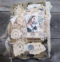 Shakespearean Ladies Junk Journal – Design Team – Lynne