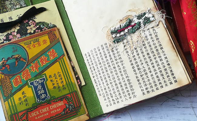 Asian Themed Junk Journal