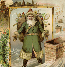 9 Christmas Eve Images – Victorian Trade Cards