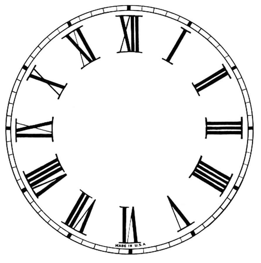 Mini Clock Face Image
