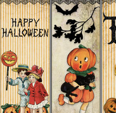 Printable Halloween Tags & Bookmarks – So Cute!
