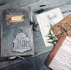 Dark Fairy Junk Journal – Design Team – Lynne Morgado