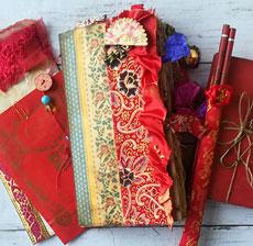 Madam Wong's Diary Junk Journal- Luna Rozu
