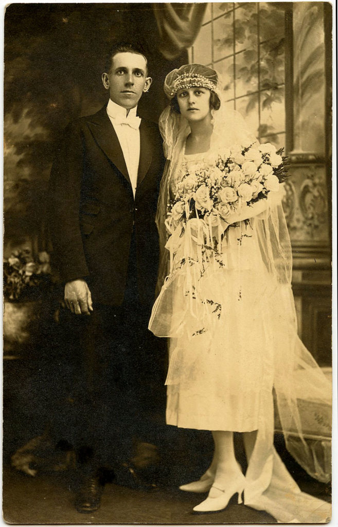 Antique Wedding Photo