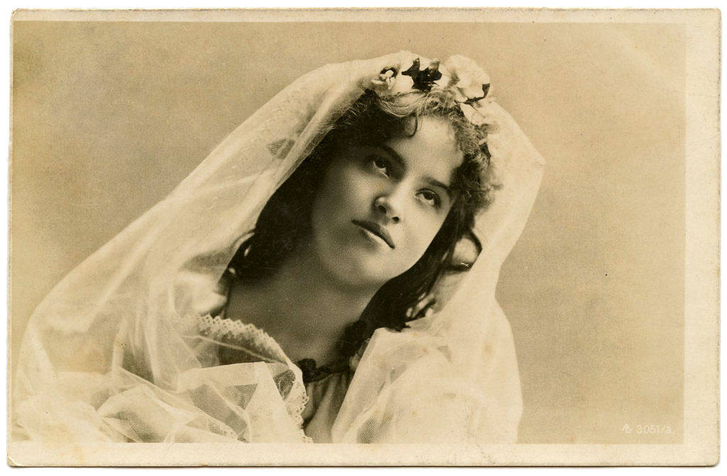 Old Bridal Photos