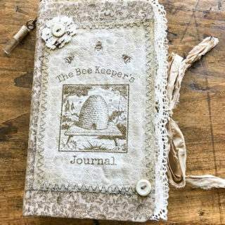 Beekeeper's Junk Journal – Design Team – Cheryl Carpenter