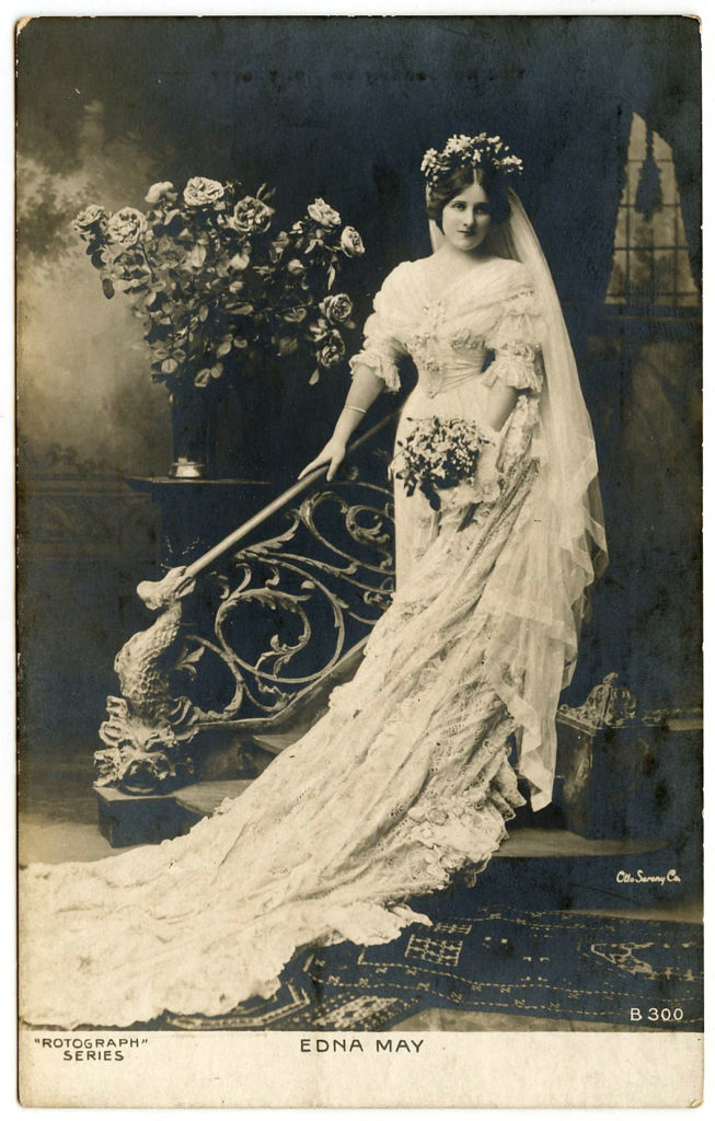 Real Photo Postcard Bride