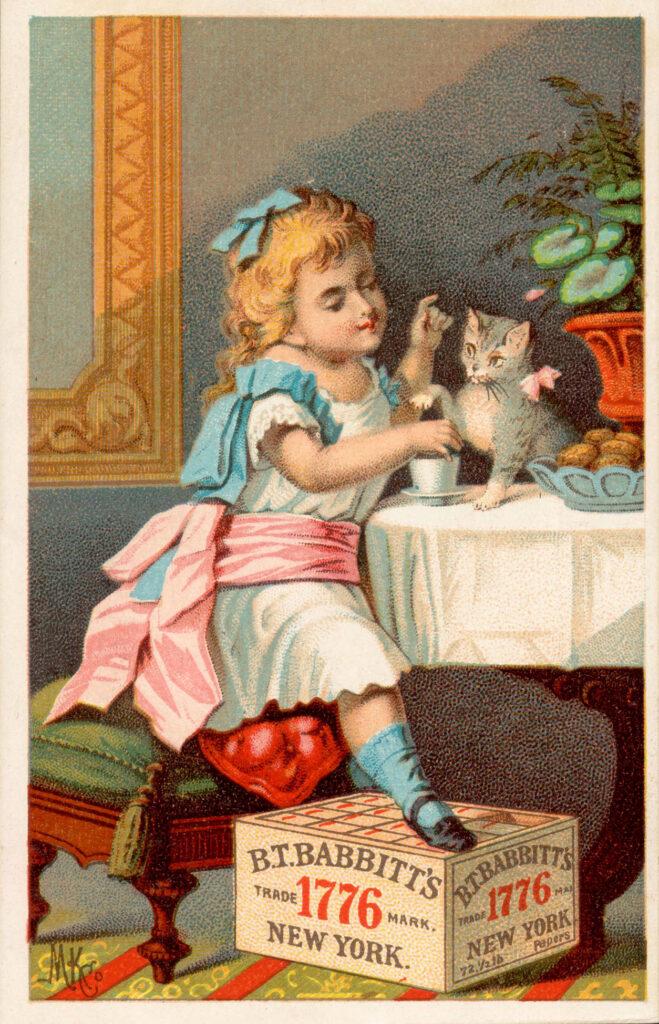 Tea with Kitten Image