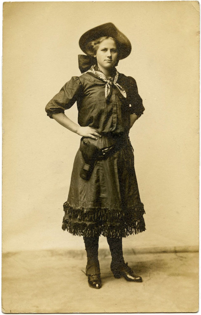 Vintage Cowgirl Photos
