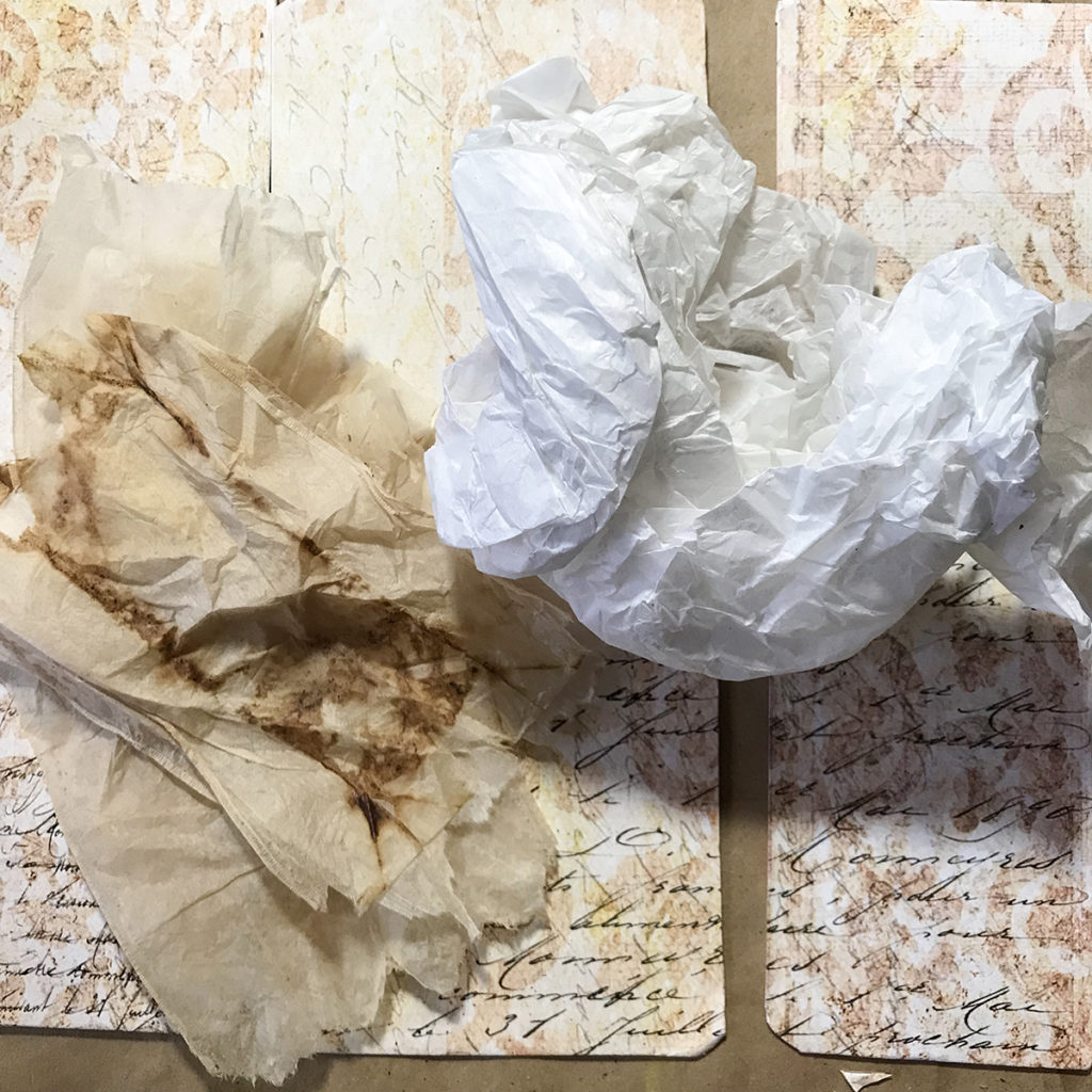 Scrunch Tissue Paper