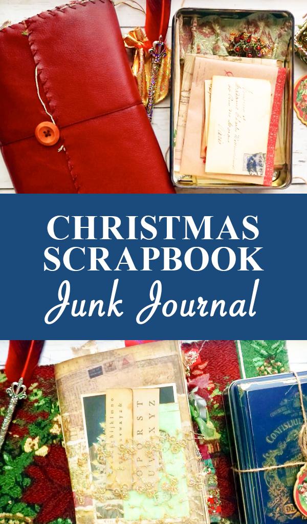 Christmas Scrapbook Junk Journal