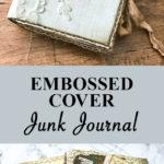 Embossed Cover Junk Journal Hero Pin