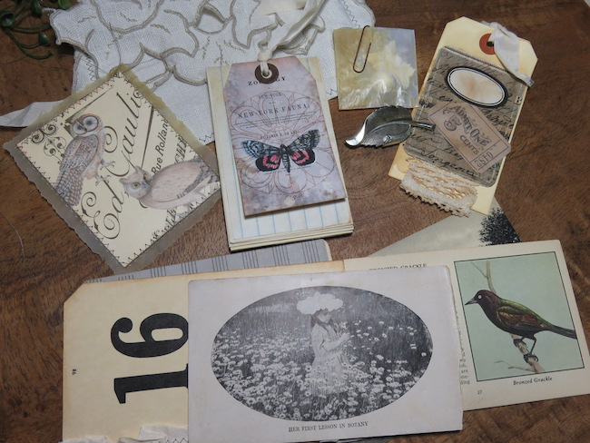 Ephemera for Junk Journal Tags