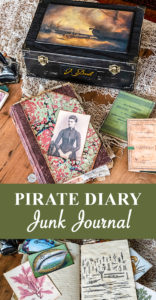 Pirate Diary Junk Journal