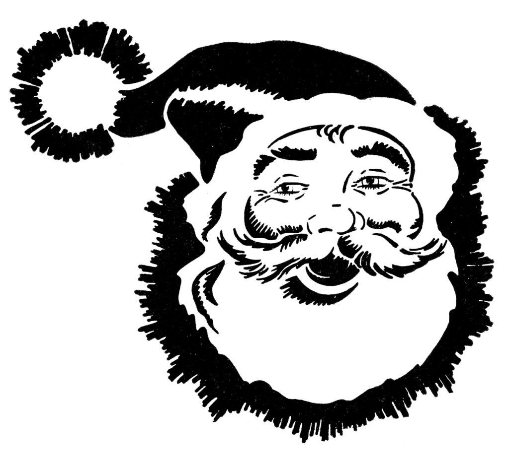 Santa Holidays clipart Image