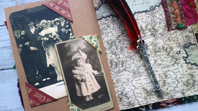 Christmas Junk Journal Pages