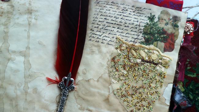 Christmas Scrapbook Letter