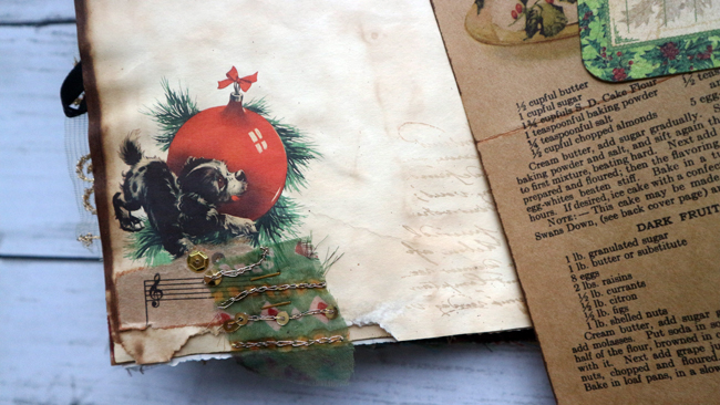 Christmas Scrapbook Puppies