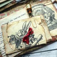 Alice in Wonderland Junk Journal featured page