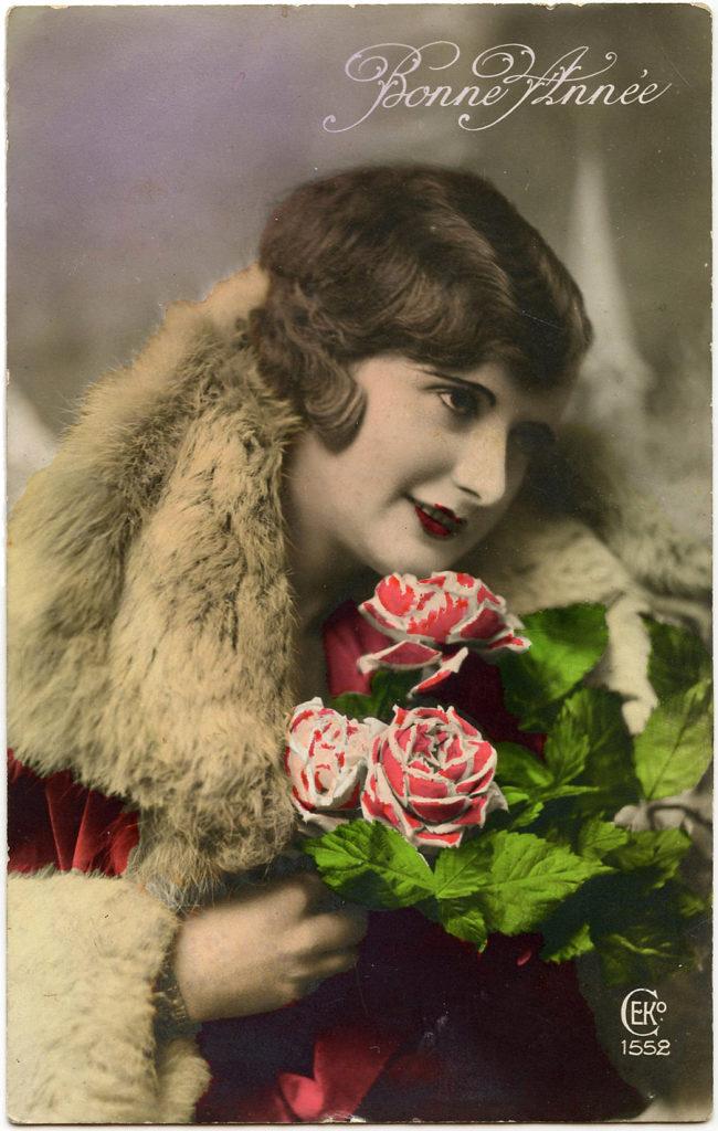 Bonne Annee Roses Lady