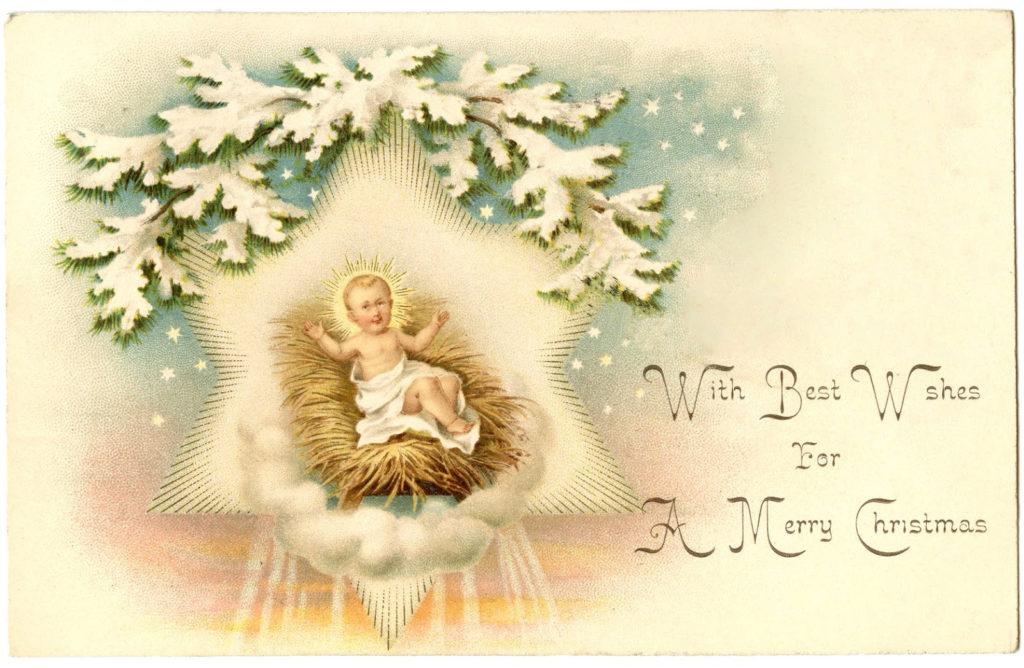 Christmas Jesus Manger Image