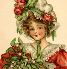7 dickens christmas girls images   the graphics fairy