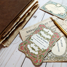 Poet's French Junk Journal Feature Image