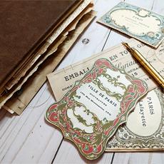 Poet's French Junk Journal – Design Team Nik the Booksmith