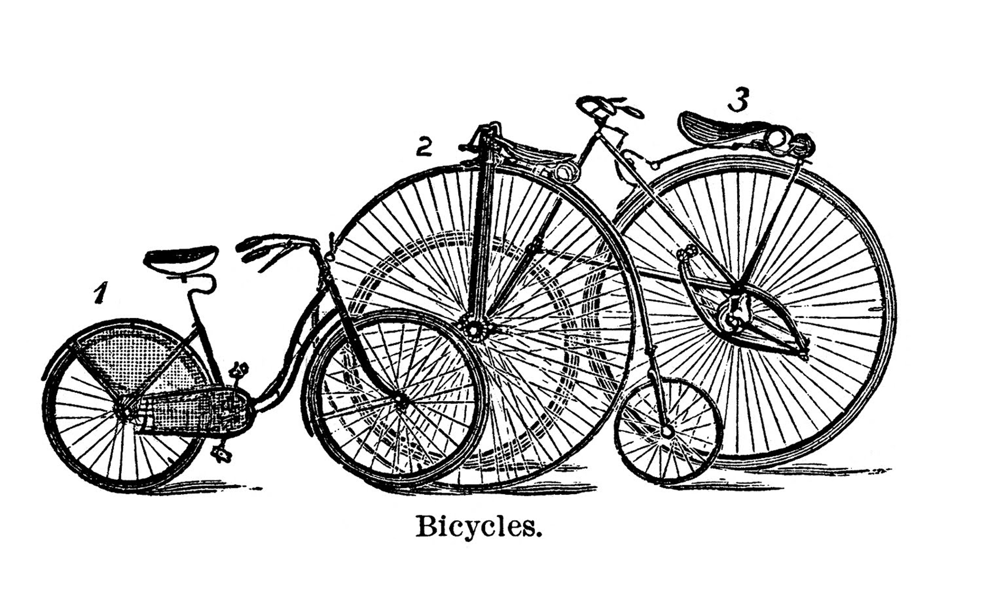 15 Bicycle Clip Art Images - The Graphics Fairy