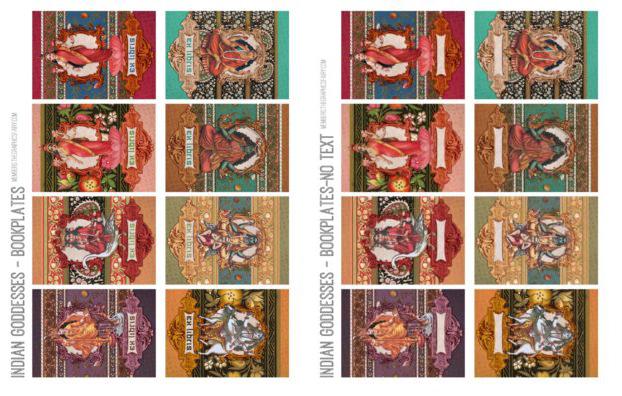 Indian Goddesses Printables