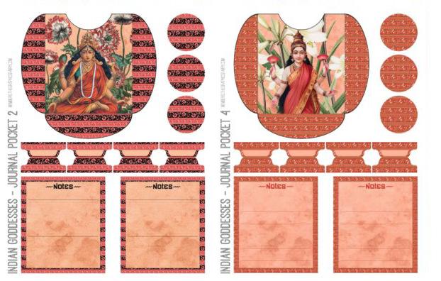 Indian Goddess Printables