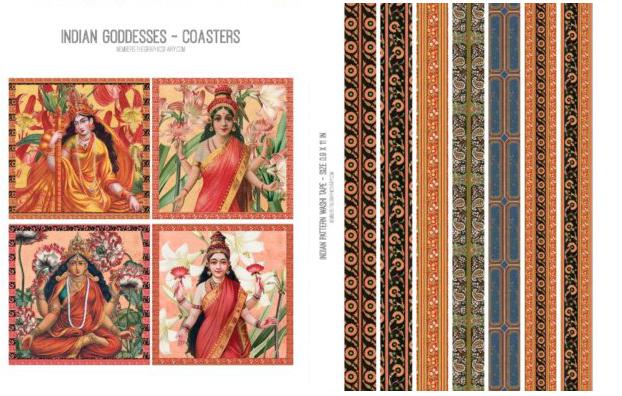 Indian Goddess Image Kit