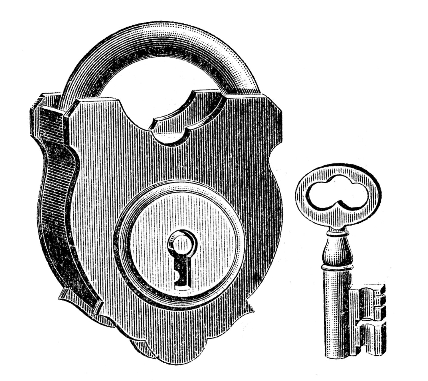 Lock and Small Skeleton Key