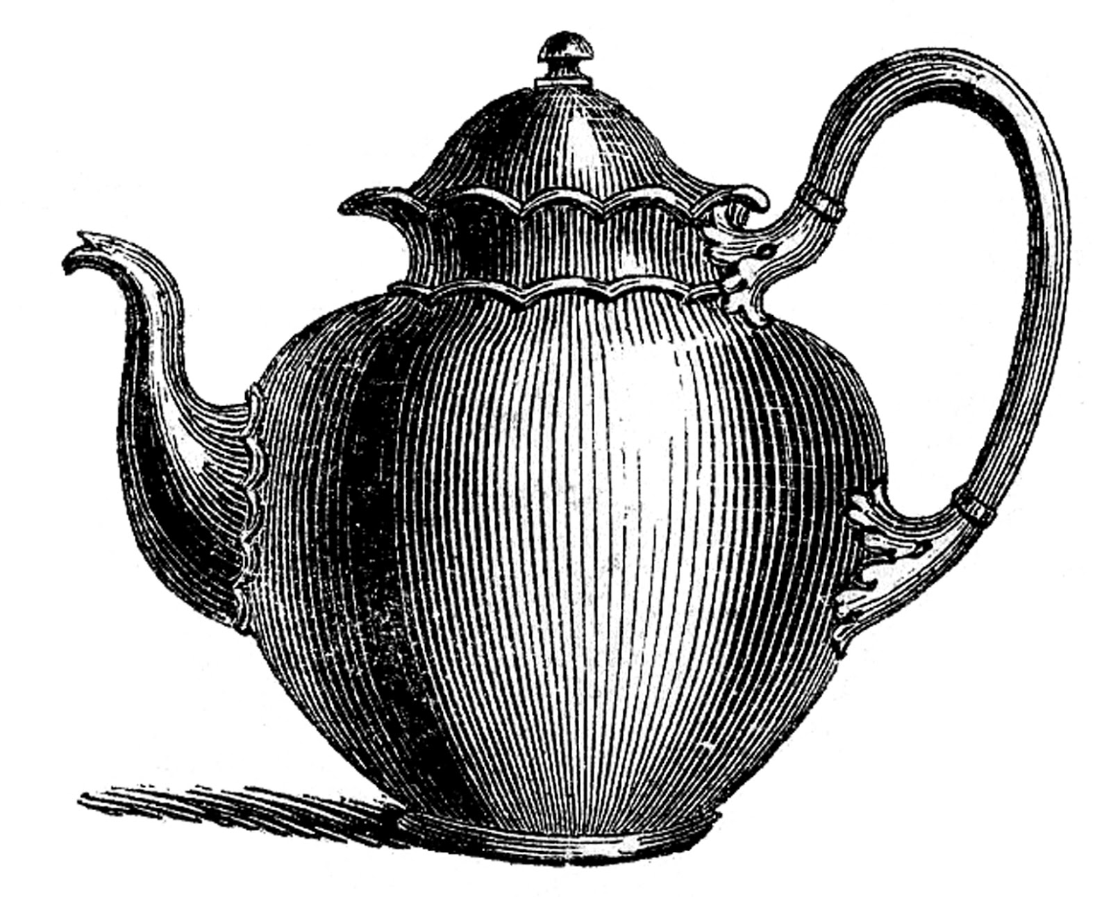 10 Best Teapot Clipart! - The Graphics Fairy