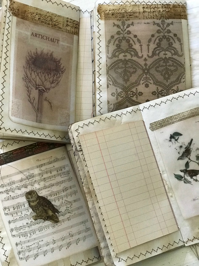 Vellum Prints The Journal Keeper