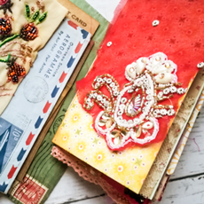 Vintage Valentine Junk Journal Feature