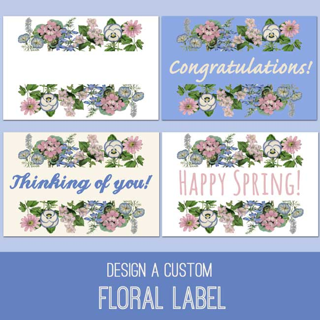 Floral Label Tutorial
