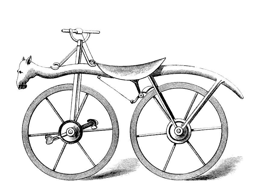 Horse Head Bicycle Image