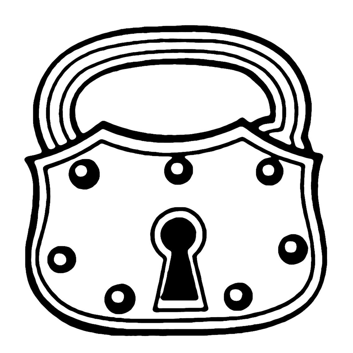 Lock Vintage Image