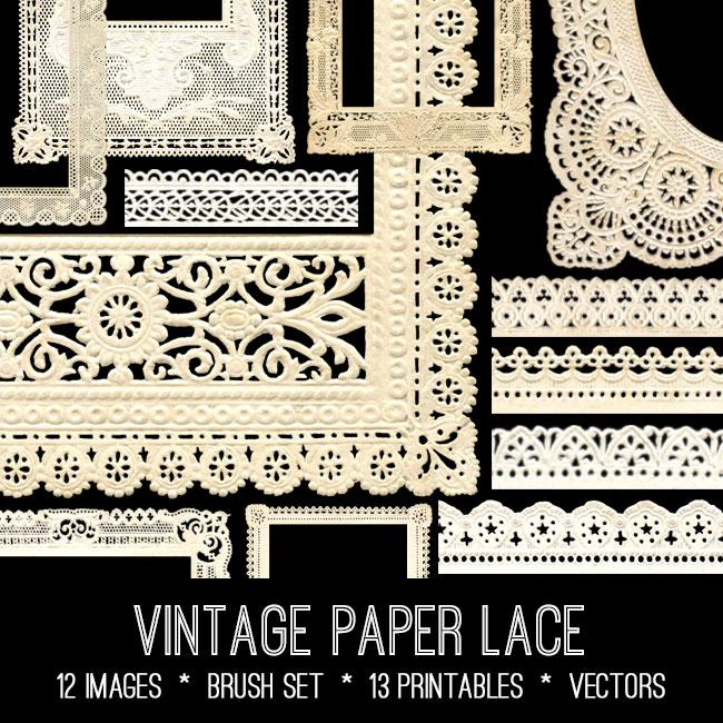 Paper Lace Image Kit