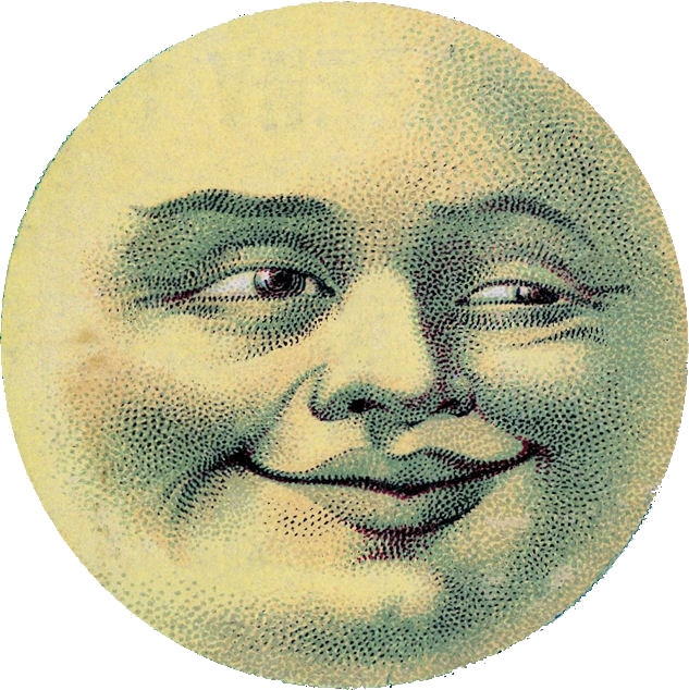 Man in the Moon Face