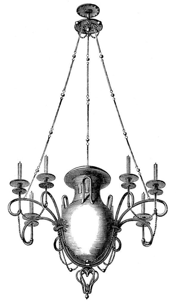 Gothic Vintage Chandelier Image