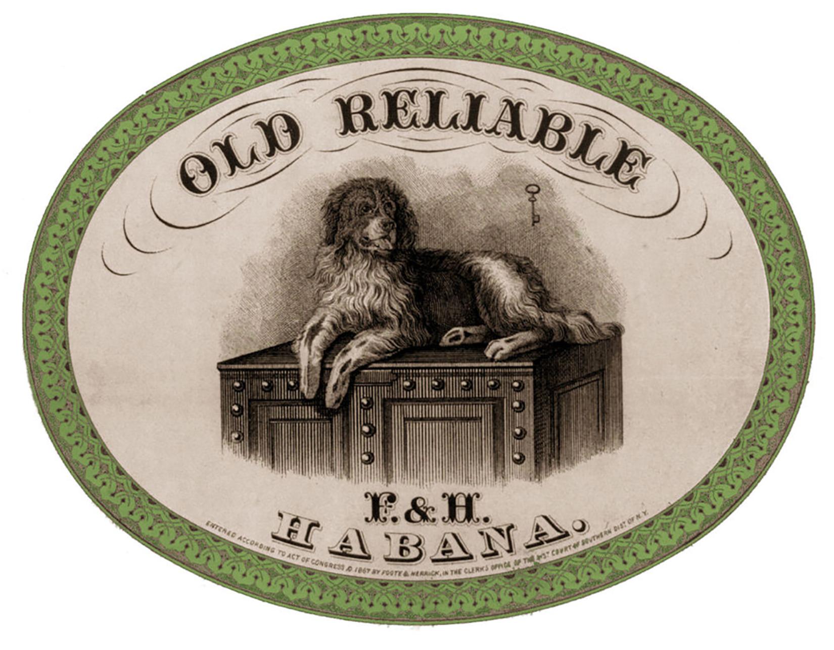 Dog-Cigar-Label-GraphicsFairy