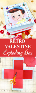Retro Valentine Exploding Box Tutorial