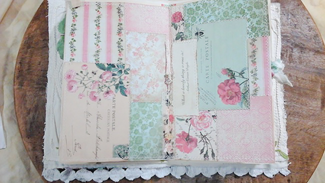 Ode to the Rose Patchwork Pages